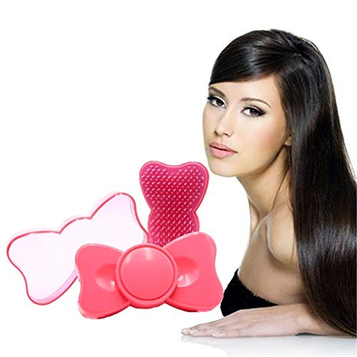 Massage du cuir chevelu Peigne Grand Conseil Peigne En forme de lèvres Peignes Carré Peigne Étudiant Brosse À Cheveux Spécial Peigne pink