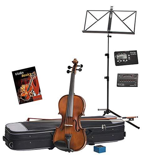 Stentor SR1542 3/4 Graduate viool set incl. accessoires & noten