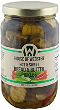 product image for House of Webster Hot and Sweet Bread and Butter Pickles
