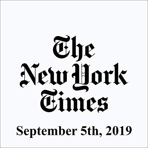 September 5, 2019 audiobook cover art