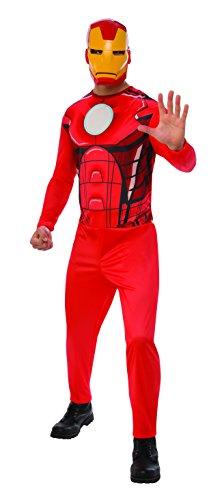 Marvel - Disfraz de Iron Man para hombre, Talla XL adulto (Rubie's 820957-XL)
