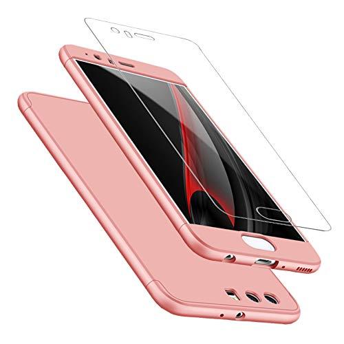 DECHYI compatibles para Funda Huawei P10,Cubierta + Cristal Templado Matte Ultra Slim...