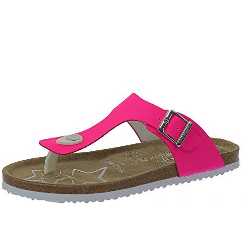 TOM TAILOR Damen 8072217 Zehentrenner, Pink (Neon Pink 02665), 37 EU
