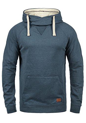 Blend Sales Herren Kapuzenpullover Hoodie Pullover mit Kapuze, Größe:XL, Farbe:Ensign Blue (70260)