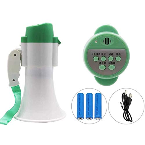 Zixin Tragbares Megaphon Hand Große Lautsprecher 600 Yards Verbreiten Faltbare Griff High-Power-Lithium-Batterie Megafon, C