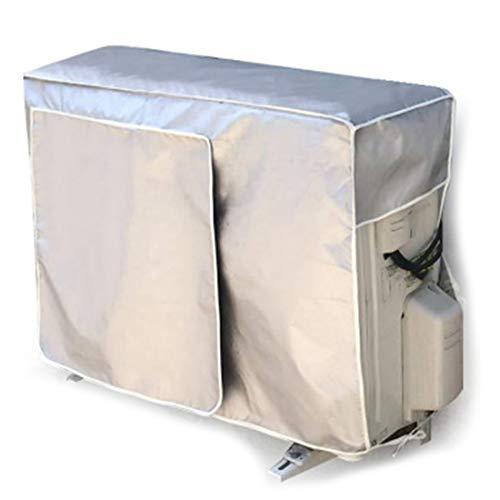 Andifany Cubierta de Aire Acondicionado Exterior Aire Acondicionado Cubierta de Limpieza Impermeable Lavado de la Cubierta de Limpieza Anti-Polvo Anti-Nieve