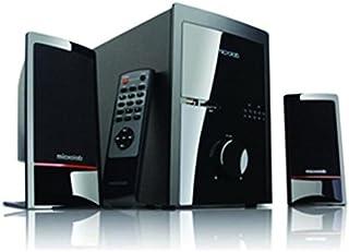 Microlab M 700U Conjunto de Altavoces 2.1 Channels Black - Set de Altavoces (2.1 Channels, PC, Black, Wireless, Amplifier, 46 W)