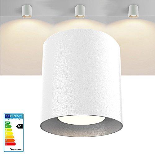 ONCCI LED opbouw spots plafond lampen kroonluchter ronde lamp wit GU10 CE (rond)