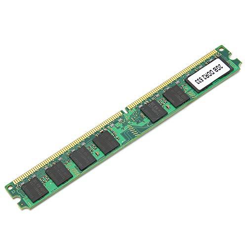 Shipenophy Módulo de Memoria de Escritorio Módulo de Memoria PC-4200 Módulo de Memoria de 2GB Compatible con Escritorio Full Compatible 16-Grain Compatible con AMD