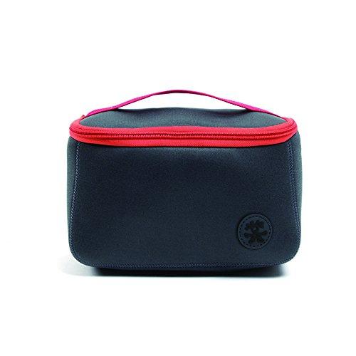 Crumpler TIZPP-S-005 Kameratasche/-Koffer Beuteltasche Anthrazit, Rot - Kamerataschen/-Koffer (Beuteltasche, Universal, Anthrazit, Rot)