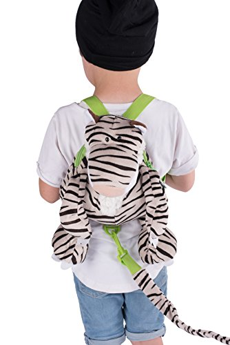 Animal Planet Baby Backpack with Safety Harness, Tiger
