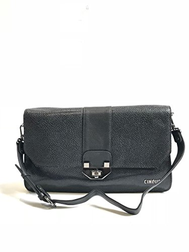 Cinque Handtasche Damen Schwarz Leder 11746-9000