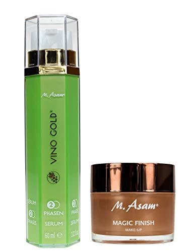 M. Asam® Magic Finish 30ml + Vino Gold® 2-Phasen-Serum 60ml