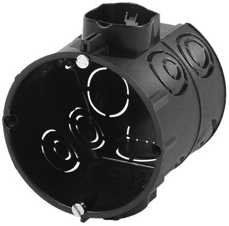 f-tronic Unterputz-Gerätedose, 65mm tief, Schrauben, E107M25S, Inhalt: 25, Stück