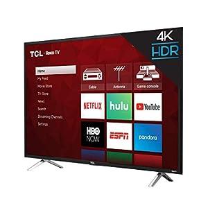 "TCL 43"" Class 4-Series 4K UHD HDR Roku 2017 Smart TV - 43S405"