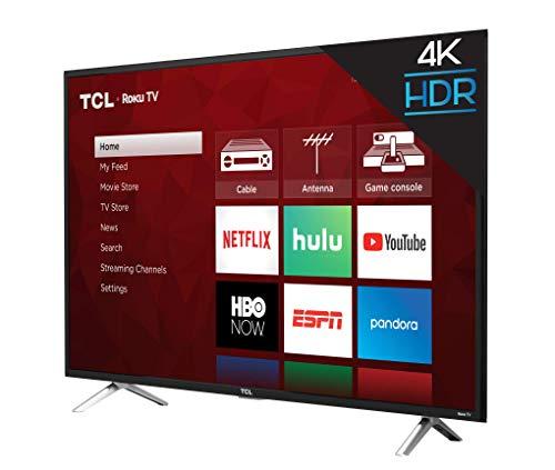 TCL 49' Class 4-Series 4K UHD HDR Roku 2017 Smart TV - 49S405