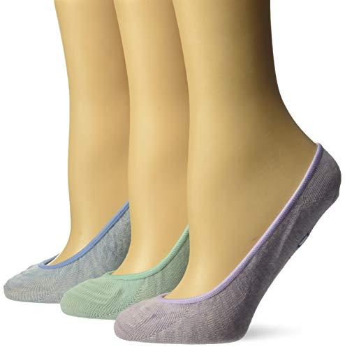 Keds Women's Liners 3 Pair Pack, Lavender Heather Assorted, Shoe Size: 4-10 (Sock Size: 9-11) -  KEWS17B001-03-070-ShSz:4-10(SckSz:9-11)