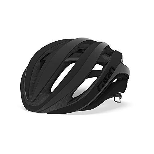 Giro - Aether MIPS - Casco de Carretera, Aether MIPS, Unisex Adulto, Color Negro Mate, tamaño Medium/55-59 cm