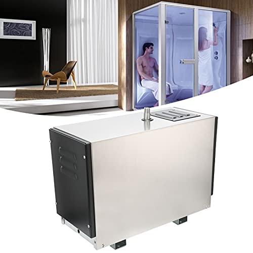 01 Generatore di Vapore temporizzato, scarica automaticamente l acqua con Funzionamento Regolare Generatore di Vapore Decalcificante Automatico Anti-Rottura per la casa per Il Bagno Turco