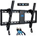 Mounting Dream Tilt TV Wall Mount Bracket for Most 37,70 Inches TVs, TV Mount with VESA up to 600x400mm, Fits 16in, 18in, 24in Studs and Loading Capacity 132 lbs MD2268,LK (Renewed)