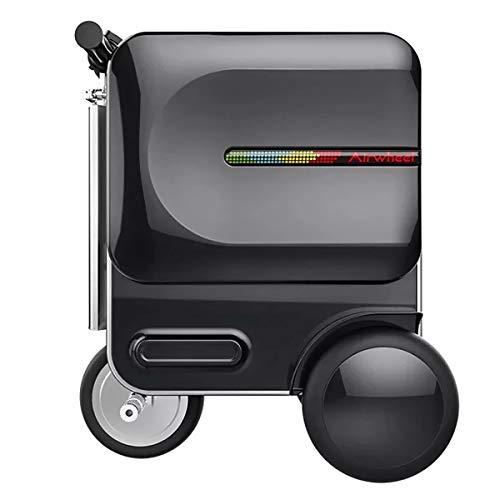 Equipaje inteligente plegable, equipaje de montar, carretilla plegable de equipaje eléctrico, equipaje...