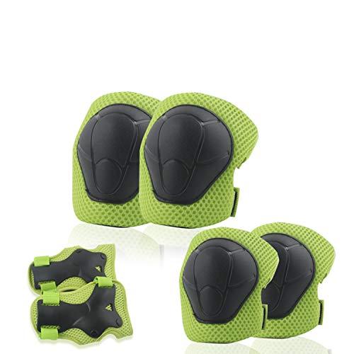 Kinder Knieschoner, 6-in-1 Knie - Handgelenk- Und Ellbogenschutz, Geeignet Zum Skaten, Inlineskaten, Radfahren, Skateboarden Im Freien