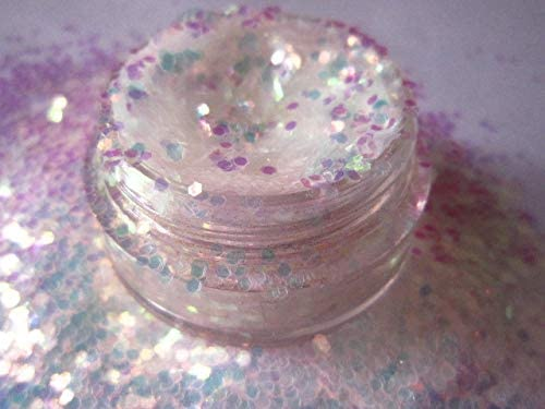 Gabcus White Sequin Dust Excellence Nail Max 54% OFF Decorations 1MM Glitters Glitter -