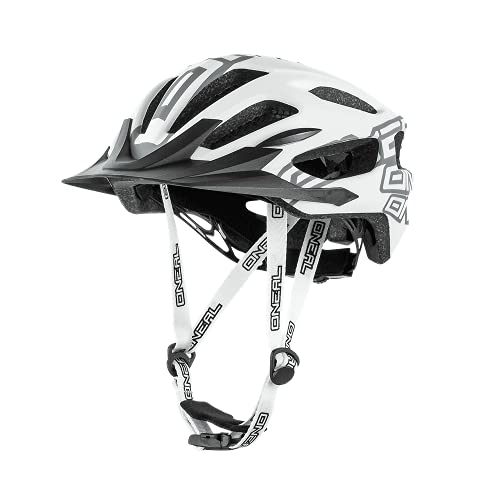 O'NEAL   Mountainbike-Helm   Enduro All-Mountain   Effizientes Ventilationssystem, Größenverstellsystem, EN1078 geprüft   Helmet Q RL   Erwachsene   Weiß  Größe XS/S/M