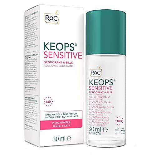 ROC KEOOPS DEO roll-on piel sensible pack 2x30ml.