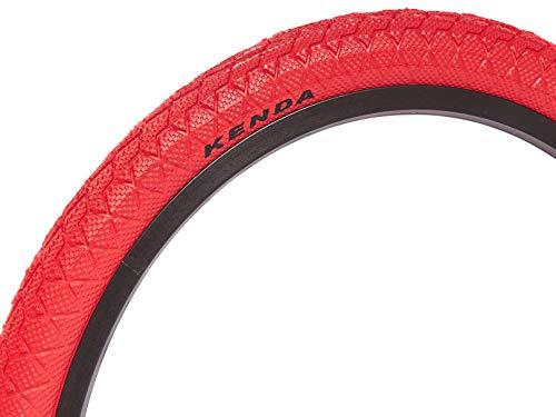 KHE Kenda BMX Freestyle - Pneumatico 20' x 1,95', rosso solo 610 g