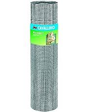 Blinky 66710 konijndraad/gaas, verzinkt, 6,3 x 6 x 3 mm, draadsnoer: 0,55, 5 m, 100 cm