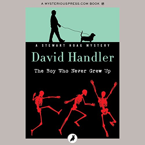 The Boy Who Never Grew Up audiobook cover art