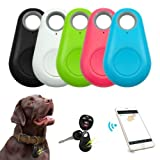 5 Pack Bluetooth Gps Tracker With Sound For Kid Cats Dog Car Bicycle Keys Dementia And Elderly Care Mini Item Finder Google Smart Home Ios & Android Compatible In Assorted Color