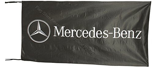 Beautiful Flag Mercedes Benz Flagge, 6,4 x 1,5 m