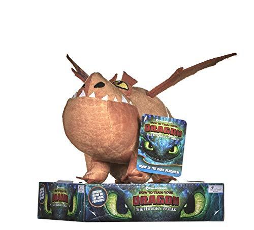 DreamWorks 12438 How to Train Your Dragon 3 Fleischklops Plüsch-32cm Plüsch, Multi, 32 cm