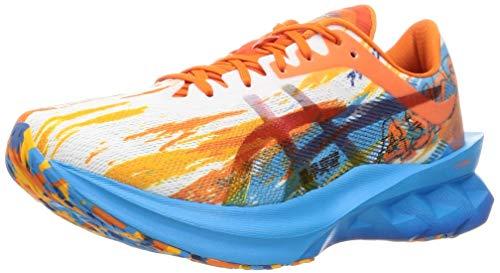 Asics 1011B239-400_45, Zapatos para Correr Hombre, Orange, EU