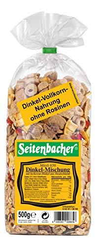 Seitenbacher Müsli Dinkelmischung,6er Pack (6x 500 g Packung)