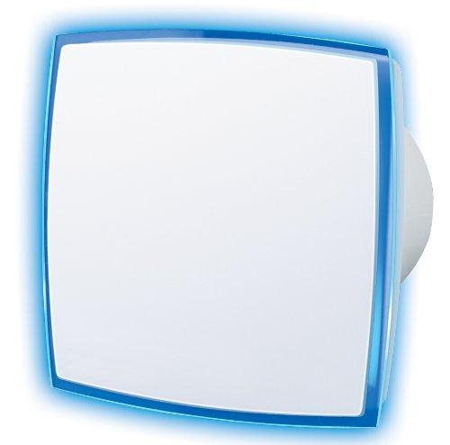 Vents - Ventilador extractor con línea luminosa (LED), color blanco