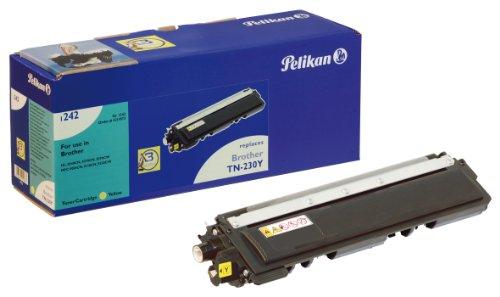 Pelikan Toner ersetzt Brother TN-230Y (passend für Drucker Brother HL 3040)