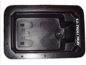 EZ-Troll Fishing Boat Motor Tray, Black