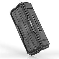 【Tecnologia Bluetooth 5.0】Dotato di tecnologia Bluetooth 5.0 avanzata che garantisce l'accoppiamento istantaneo e mantiene una connessione solida, compatibile con dispositivi elettronici al 99,99%. Supporta anche la scheda Micro SD, il disco USB, la ...
