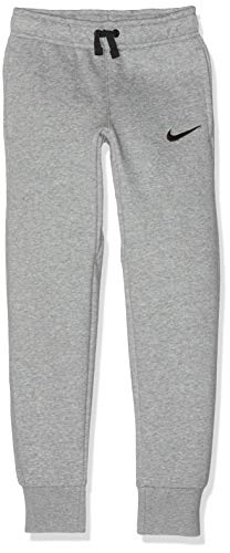 Nike Jungen Y CFD Pant FLC TM CLUB19 Sport Trousers, dk Grey Heather/Black/(Black), S