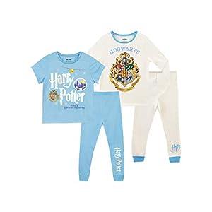 HARRY POTTER Pijamas para Niñas 2 Paquetes Hogwarts 44