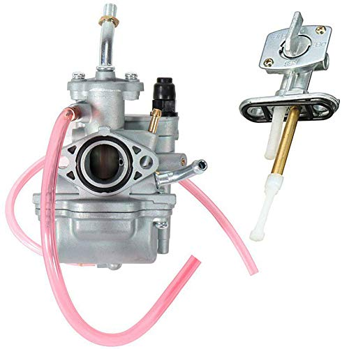 TTR90 Carburetor for Yamaha TTR 90 TTR90E with Fuel Switch Valve Petcock, replace 5HN-14101-00-00 5HN-14101-10-00 by TOPEMAI