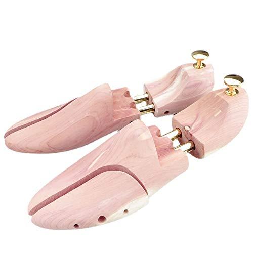 Shoe Trees for Men, Best Adjustable Split Toe Cedar Boot Tree Shoe Stretcher, Shoe Shaft Wood Shoe Stretcher Shaper for Men and Women (1 Pair),Natural,XL