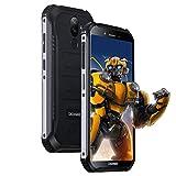Rugged Smartphone In Offerta, DOOGEE S40 LITE Android 9.0 Cellulare Outdoor Dual SIM 2GB+16GB, IP68/IP69K Impermeabile 5,5 Pollici, 4680mAh, 8MP+5MP Fotocamera, Impronta Digitale Faccia ID, Nero