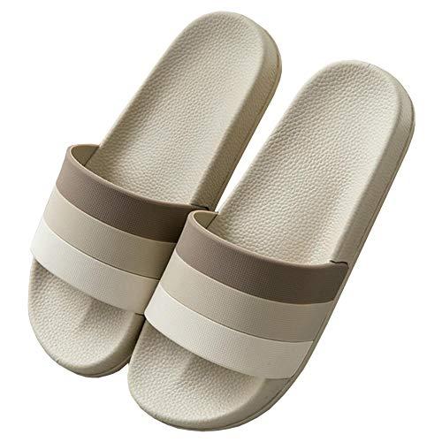 Badezimmer Schuhe Erwachsener Rutschfest Comfort Sandalen Unisex Sommer Pantoletten Offen Indoor Outdoor