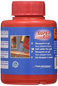 SUPER EGO 947005000 - Gel decapante para soldadura blanda 85 ml