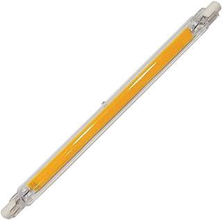 Bombilla LED R7S de 198 mm / 7,8 Pulgadas 110 V 15 W Blanco frío 6000 K J Bombilla halógena de Repuesto Tipo 150 W Bombilla halógena Equivalente de Doble Extremo
