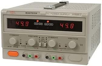 Mastech HY5003-2 Benchtop Power Supply, Dual Output, Digital, 2 x 50 Volt, 2 x 3A, 300W, 6.5